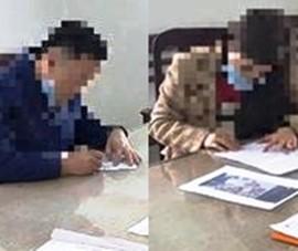 1 phụ nữ vi phạm giao thông, đăng clip xúc phạm công an