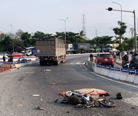 Đà Nẵng: Lại tai nạn chết người ở điểm đen cầu Tiên Sơn