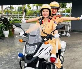 Đà Nẵng: Tập huấn cho các nữ CSGT công tác dẫn đoàn