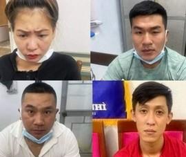 Đà Nẵng: Tạm giữ 4 nghi phạm tổ chức sử dụng ma túy