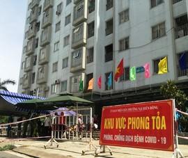 Đà Nẵng: Một người định đu dây trốn khỏi chung cư bị phong tỏa