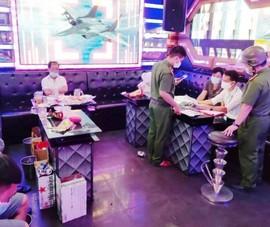 7 nam nữ tụ tập phê ma túy trong quán karaoke ở Đà Nẵng