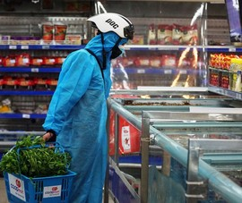 Đà Nẵng tăng shipper, nhân viên siêu thị để đảm bảo thực phẩm cho dân
