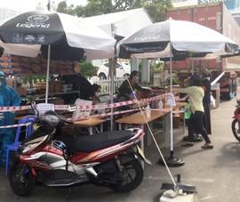 Ngày mai, công an Đà Nẵng dừng bán hàng cho dân ở các container