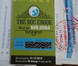 Sách điện tử khuyến mãi khủng tại 'Hội sách TP.HCM'