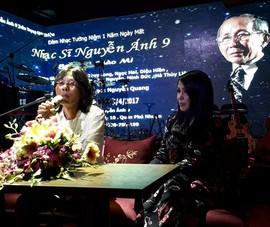 Thông tin chính thức đêm nhạc tưởng niệm Nguyễn Ánh 9