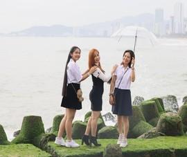 Phố biển Nha Trang rộn ràng sắc xuân Tân Sửu