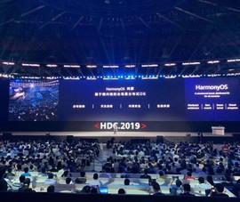 Huawei họp báo, ra mắt hệ điều hành OS thay Android của Google