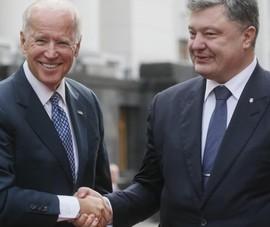 Cựu TT Ukraine Poroshenko bị điều tra về liên hệ với ông Biden