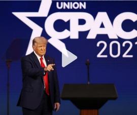 Tại CPAC, ông Trump bác lập đảng mới, đề cập tái tranh cử