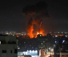 Israel bất ngờ không kích Dải Gaza sau 1 tháng ngừng bắn