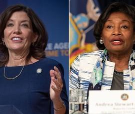 Hậu Cuomo, New York sẽ có bộ đôi thống đốc và cấp phó là phụ nữ