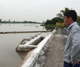 Dân kêu nước máy mặn, doanh nghiệp cấp nước nói vẫn đảm bảo