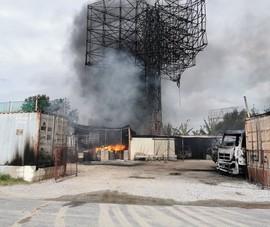 Kho xăng dầu ở Hải Phòng bị cháy xây trái phép