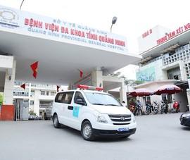 Cách ly khoa hồi sức cấp cứu BV đa khoa Quảng Ninh