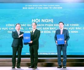 3 phân khu quy hoạch phát triển cho Khu kinh tế Vân Đồn