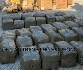 Phát hiện hơn 665kg cần sa giấu trong container tại Hải Phòng