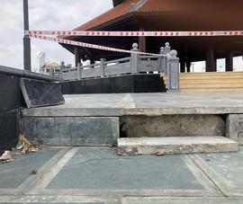 Công viên Máy Tơ ở Hải Phòng mới khánh thành vài tháng đã hư hỏng