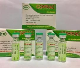 Hôm nay họp triển khai thử vaccine COVID-19 thứ 2 của Việt Nam
