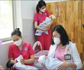TP.HCM khánh thành trung tâm H.O.P.E chăm sóc trẻ sơ sinh có mẹ nhiễm COVID-19