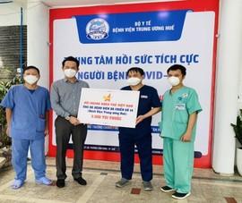 Trao tặng 3.000 túi thuốc hỗ trợ điều trị F0 ở TP.HCM