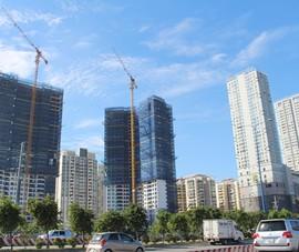 Giá nhà đất, căn hộ vẫn nhích bất chấp ít người mua