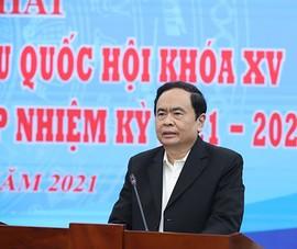 Ông Trần Thanh Mẫn: Phải bảo mật thông tin người ứng cử