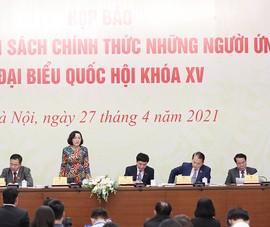 101 ủy viên Trung ương ứng cử đại biểu Quốc hội