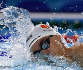 Huy Hoàng tranh suất vào chung kết 1.500 m tự do