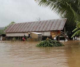 Đắk Lắk: Mưa lớn kéo dài, hơn 300 ngôi nhà ngập nước