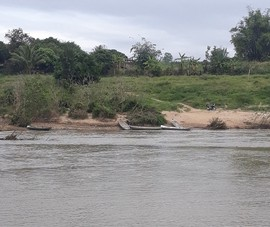 Lật thuyền trên sông, 1 người đuối nước