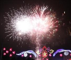Bình Dương bắn pháo hoa chào mừng sự kiện Horasis