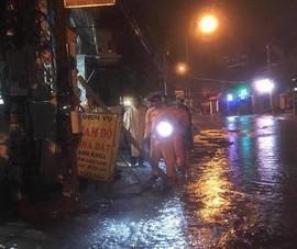 Bình Dương: Nghi điện rò khi trời mưa làm 3 người thương vong