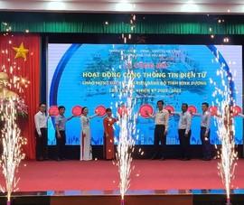 Ra mắt Cổng thông tin điện tử TP Thủ Dầu Một