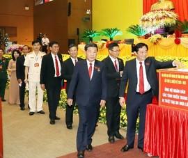 Đại hội Đảng bộ Bình Dương quyên góp ủng hộ cho miền Trung