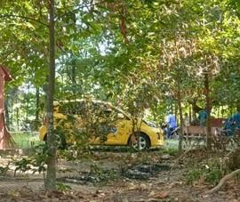 Nam tài xế taxi chết trong tư thế treo cổ ở Bình Dương