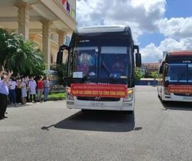 108 cán bộ, sinh viên ĐH Y dược Hải Phòng chi viện cho Bình Dương chống dịch