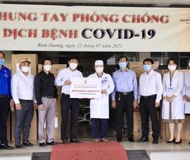 Hội Doanh nhân trẻ ủng hộ hàng chục tỉ đồng chống dịch COVID-19