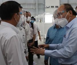 Chủ tịch nước: Bình Dương sớm đưa bệnh viện dã chiến vào hoạt động