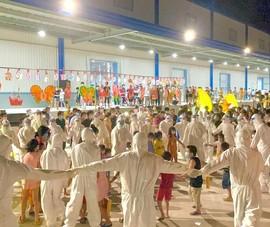 1.200 trẻ em là F0 ở Bình Dương vui vẻ ca hát trong đêm trung thu đặc biệt