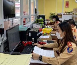 CSGT Bình Dương tiếp nhận hồ sơ đăng ký xe theo ngày với từng địa phương