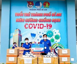 Hơn 10.000 túi thuốc điều trị COVID của Đoàn thanh niên  Bình Dương đến tay F0