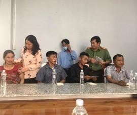 Tỉnh ủy An Giang thăm và hỗ trợ gia đình 5 trẻ đuối nước