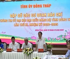 Đồng Tháp: Ông Lê Minh Hoan điều hành đại hội Đảng của tỉnh