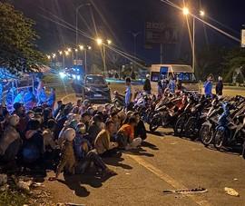 52 người tụ tập đua xe trái phép trên cầu Cần Thơ