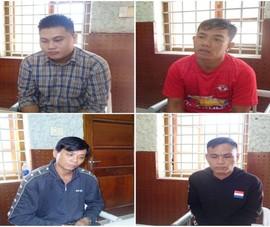 4 người trong vụ hỗn chiến ở An Giang ra đầu thú