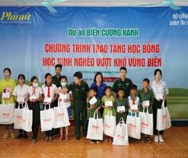 100 suất học bổng tiếp sức học sinh vùng biên giới Tây Ninh