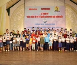150 suất học bổng tiếp sức cho học sinh ở Tiền Giang