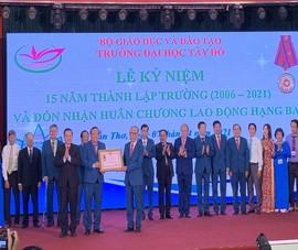 Trường Đại học Tây Đô phấn đấu phát triển ngang tầm Đông Nam Á