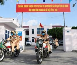 Trà Vinh: 3 lực lượng đảm bảo an ninh trật tự bầu cử